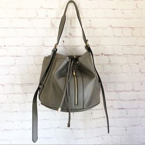 [Just Fab] NEW!  Round bucket bag purse